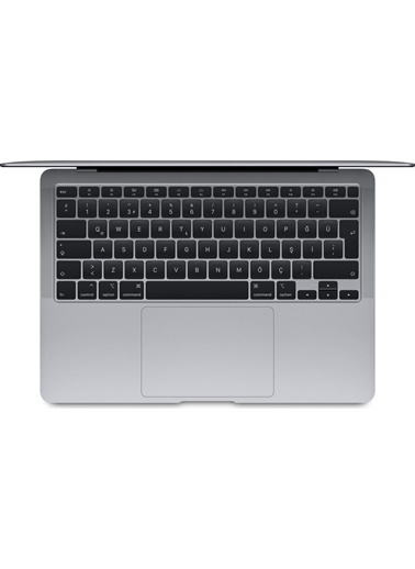 "Apple Apple Macbook Air M1 Çip 8gb 512gb Macos 13"" Qhd Taşınabilir Bilgisayar Uzay Grisi  Gri"